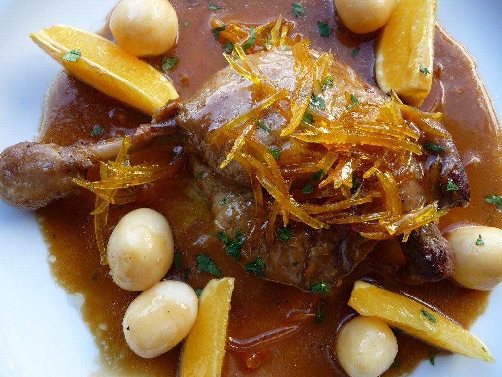 Restaurante devesa home for Pato a la naranja